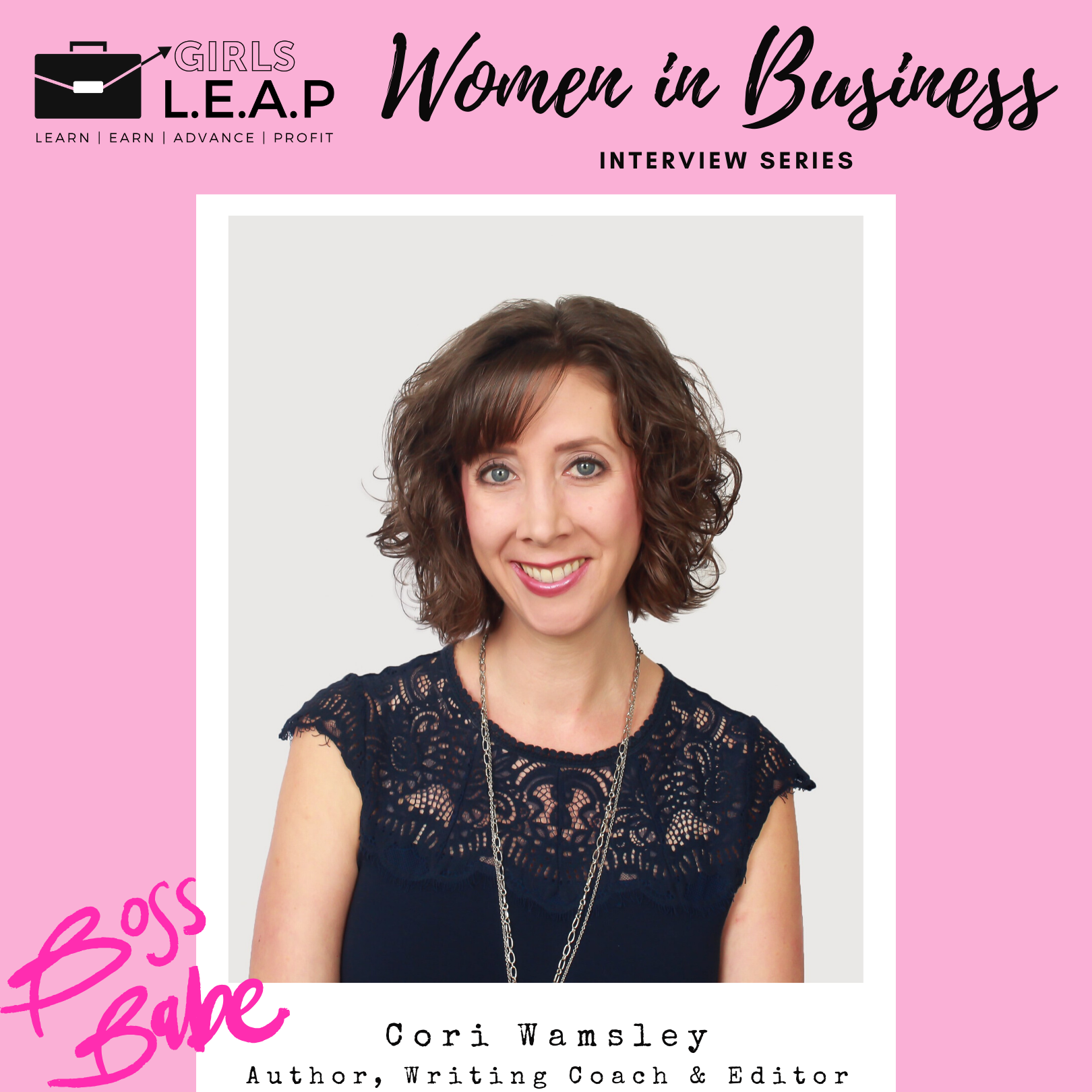 Women in Business Wednesdays: Cori Wamsley