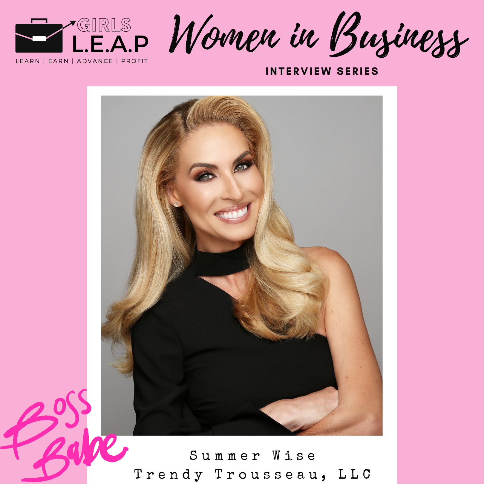 Women in Business Wednesdays: Summer Wise