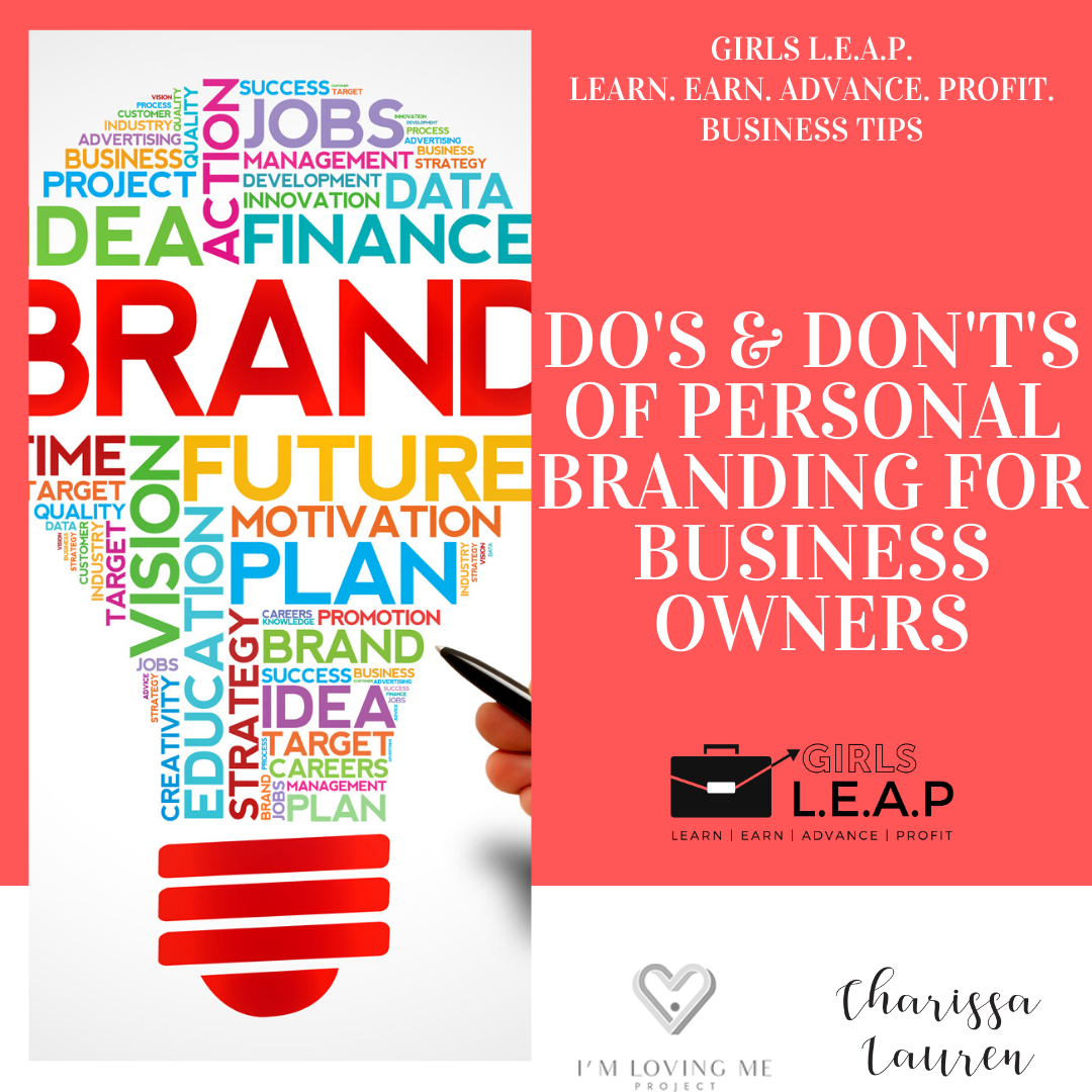 DO's and DON'Ts of Personal Branding for Entrepreneurs