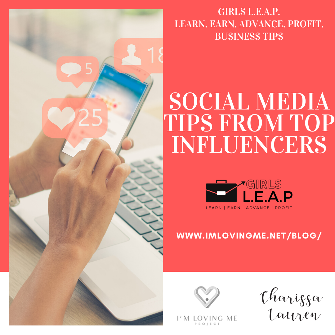 Social Media Tips from Top Influencers
