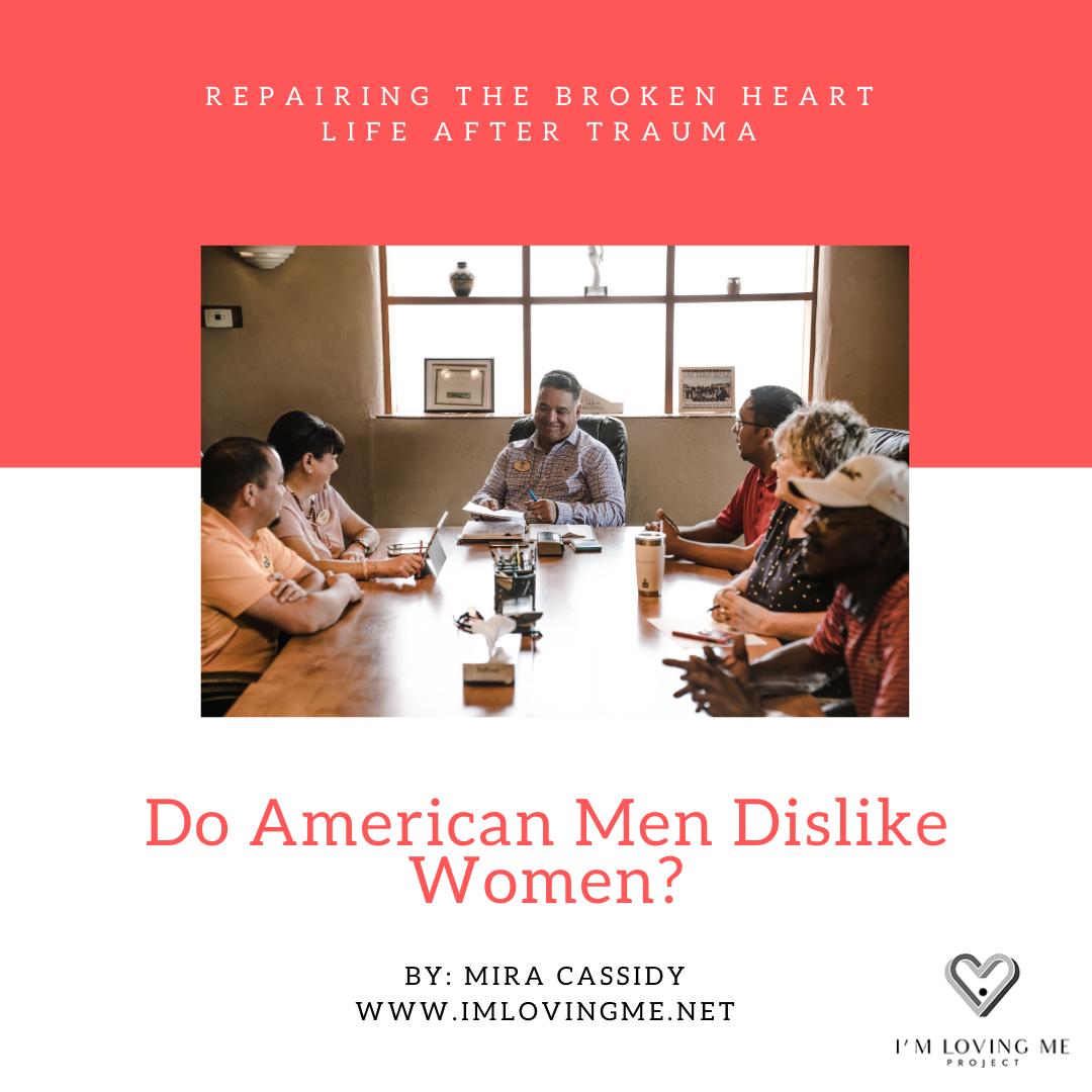 Do American Men Dislike Women?